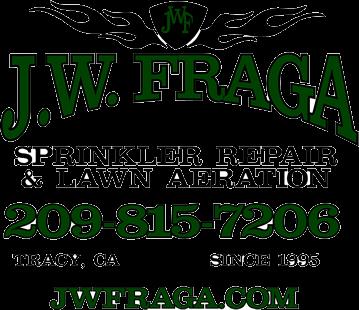 Jw Fraga Sprinkler Repair Lawn Aeration Lawn Sprinkler System