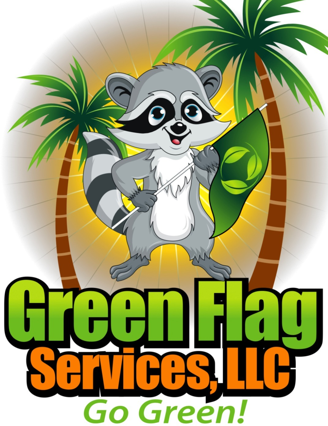 green flag services llc logo