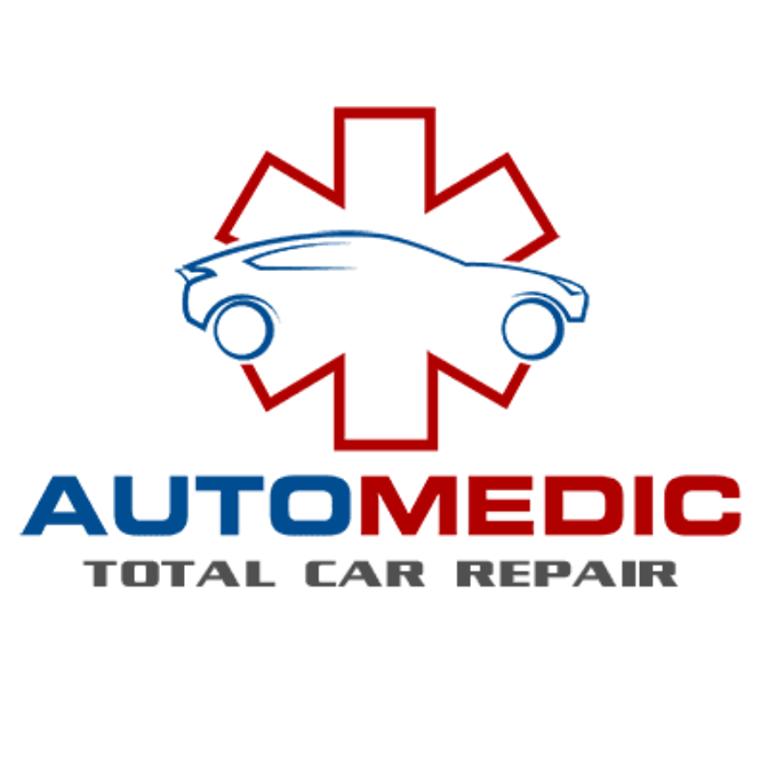 automedic total car repair logo