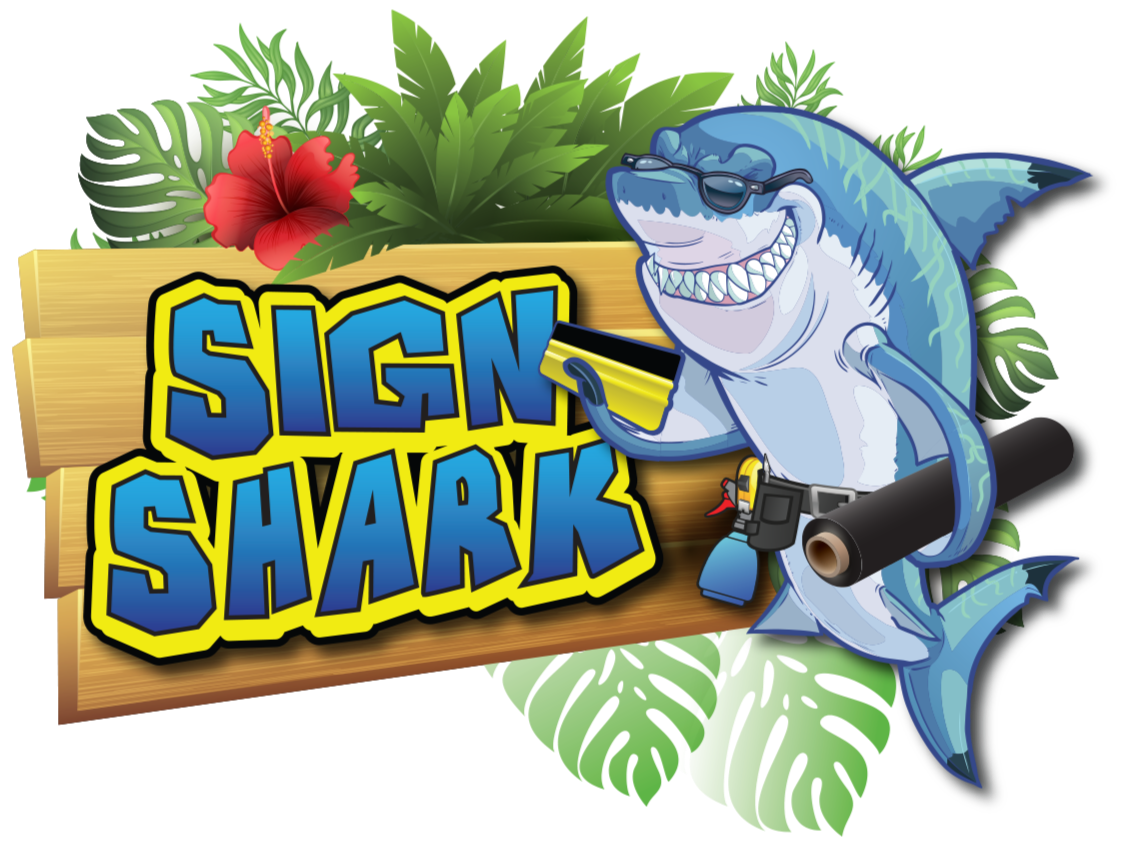 sign shark logo