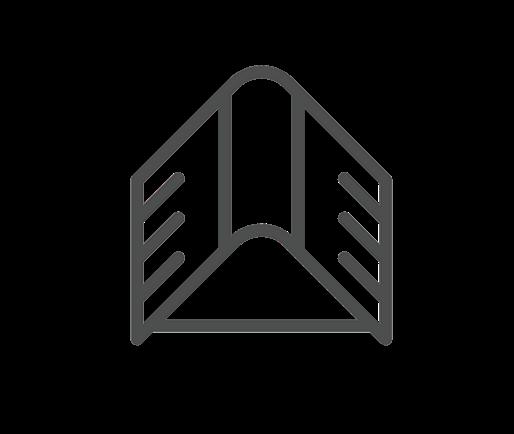 garage roof repair icon
