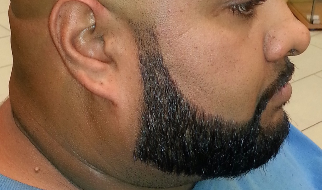 Mens Beard Shaping