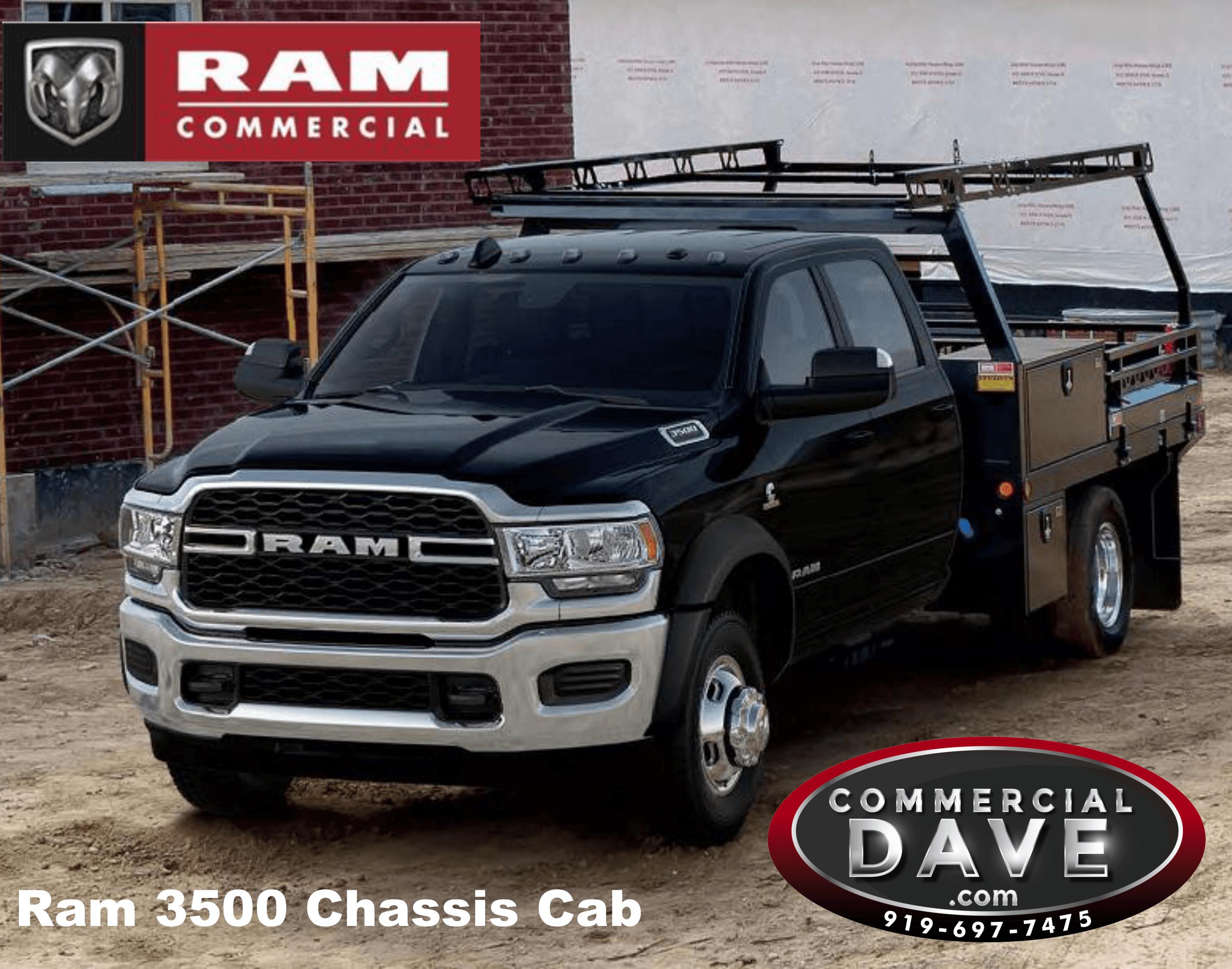 RAM 3500 Chasis CAB