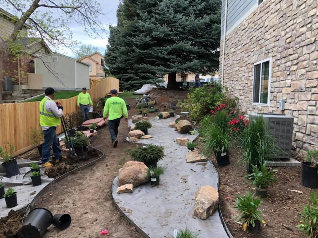 Mb J Landscaping And Concrete Llc Landscaper In Arvada Co