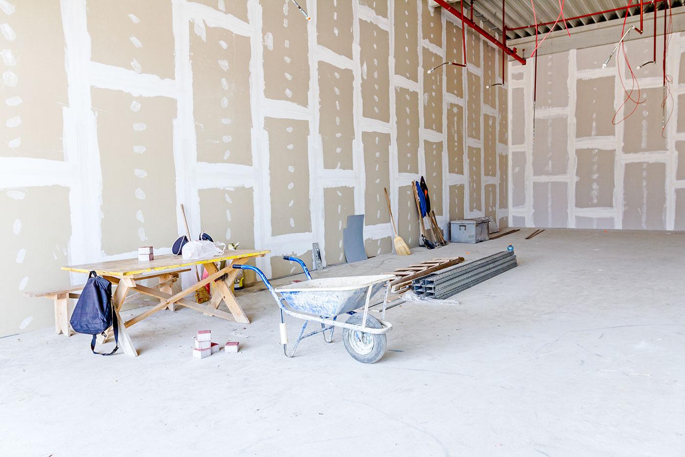 Drywall Repair & Finishing