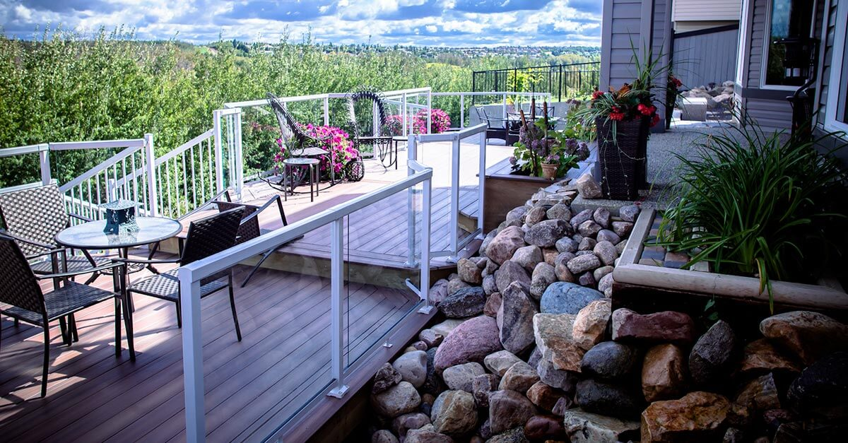 custom deck design and installation
