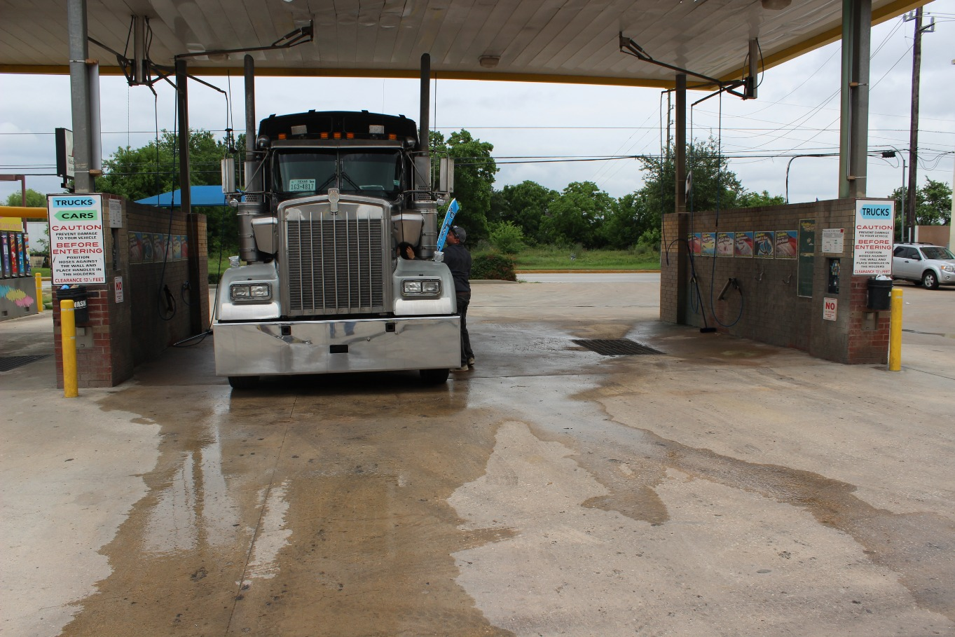 Big wash self service car truck wash change machines solutioingenieria Choice Image