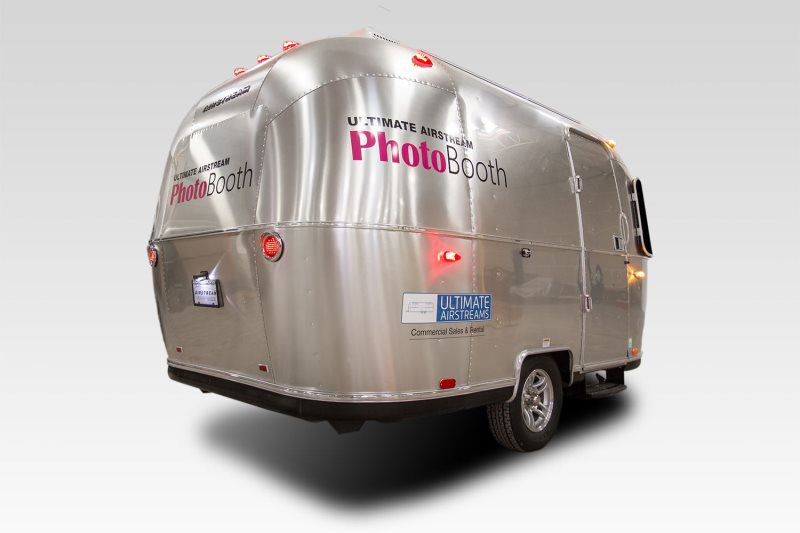 Portland Airstream Photo Booth Rentals | Enclosed Photo Booth