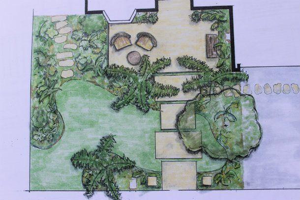 landscape design sketch