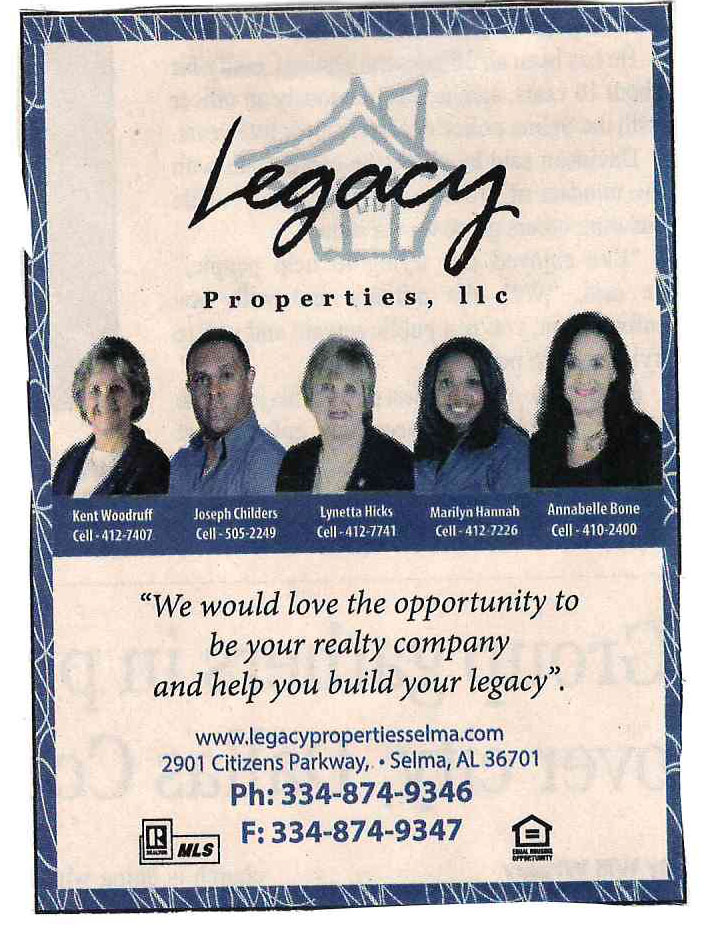 legacy properties llc team
