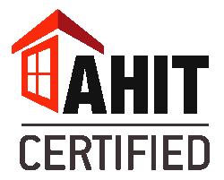 AHIT certified logo