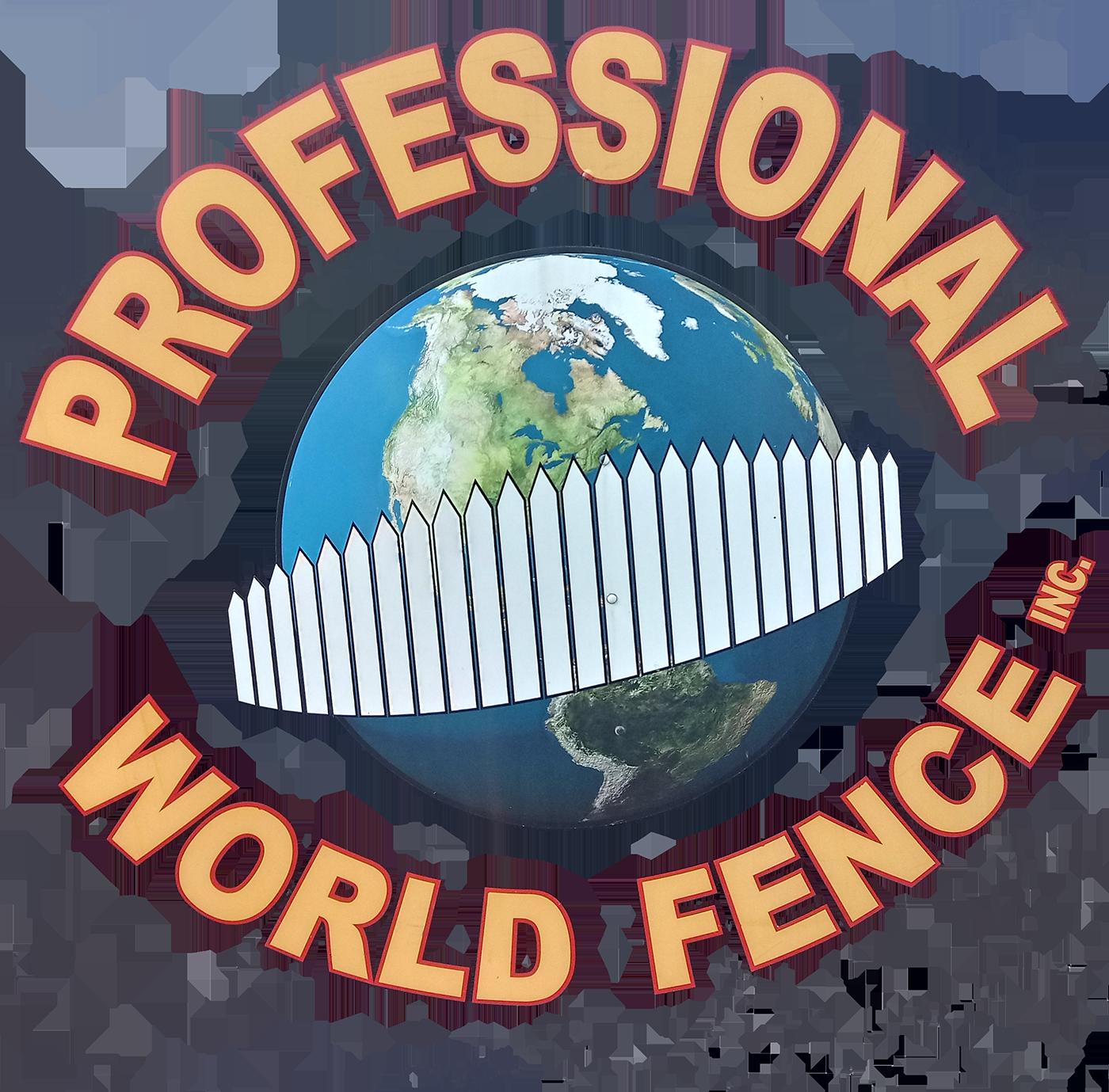 Professional World Fence Inc Logo