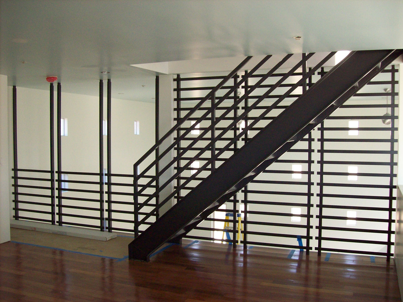 metal work railing