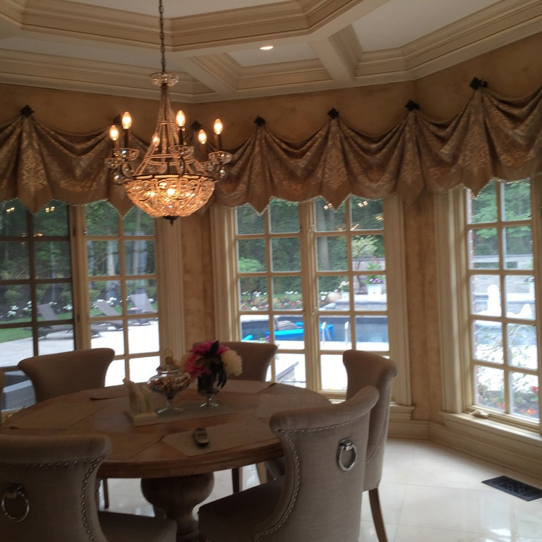 Valances with Banding