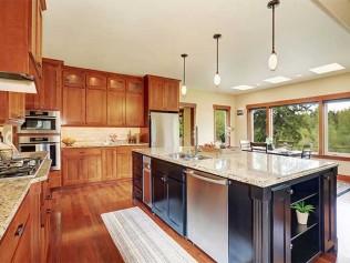 Tasteful Wooden Cabinets