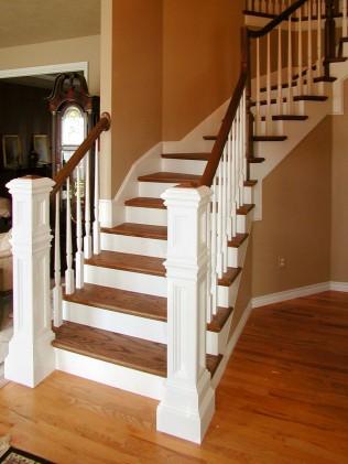custom staircase handrails