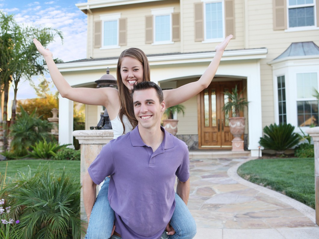 first time home buyer couple