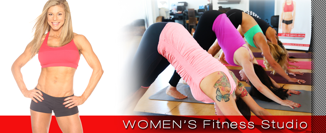 women's fitness studio