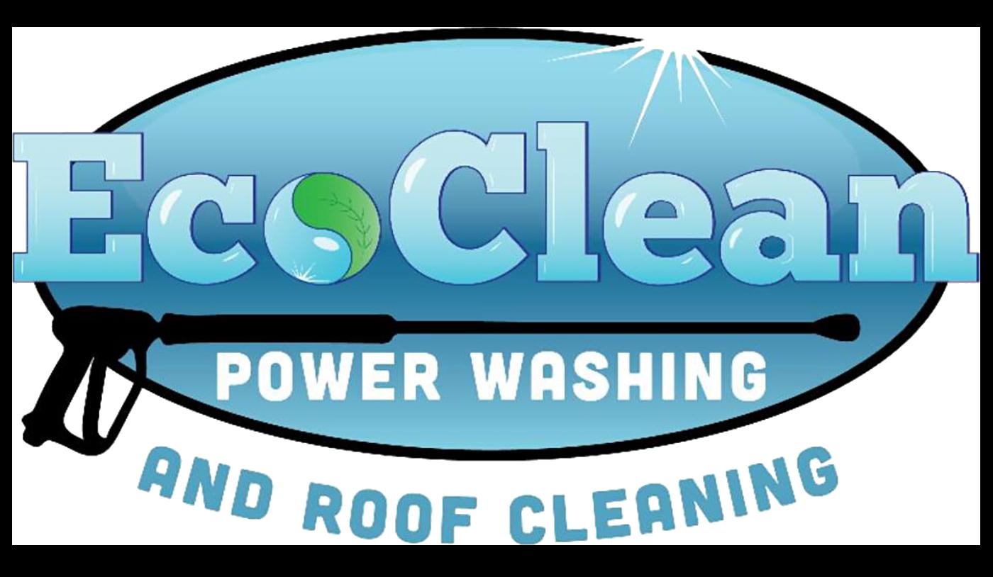 eco clean power washing logo