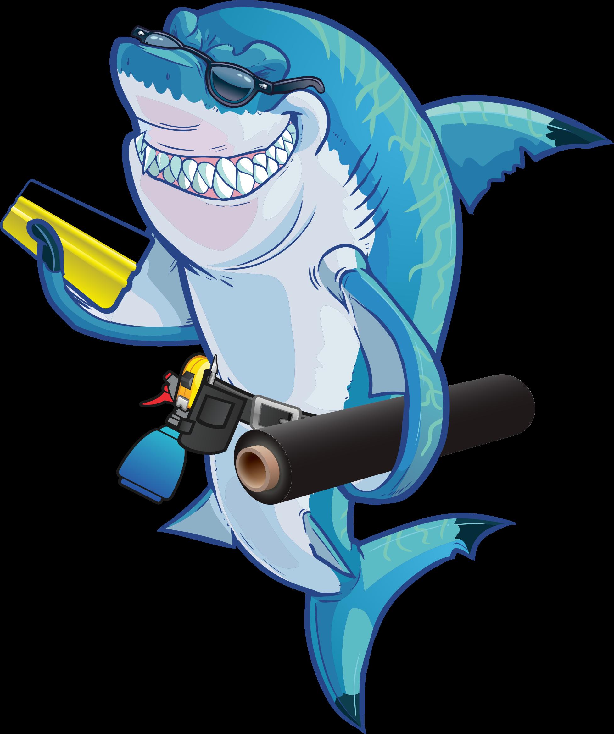 sign shark
