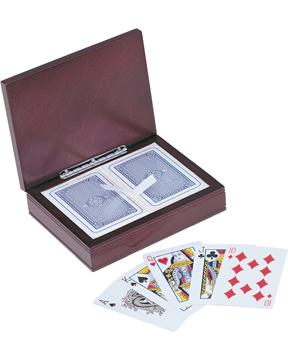 Rosewood Play Card Box