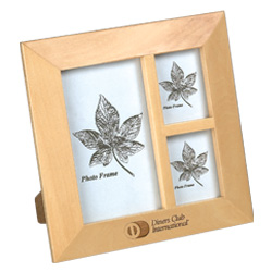 Natural Wood Picture Frame