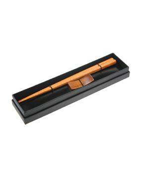 Wooden Chopsticks w/rest