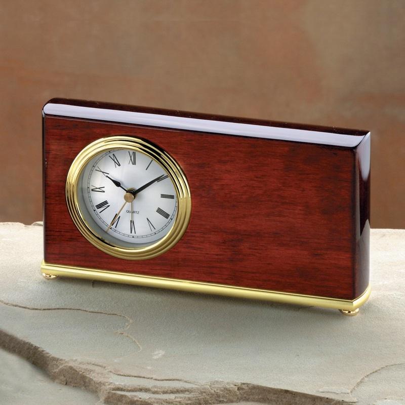 Rectangle Clock (Rosewood)