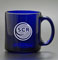 Blue Coffee Mug Laser Engraved