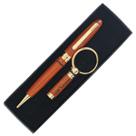 Rosewood Pen & key Chain Set