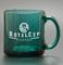 Green Coffee Mug Laser Engraved