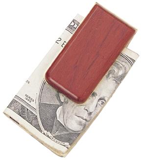 Rosweood Money Clip