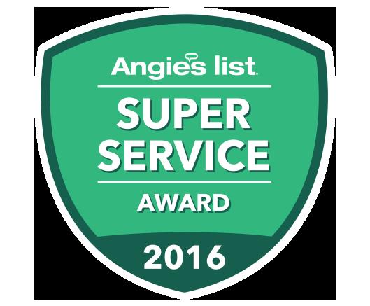 AngiesList Super Service award 2